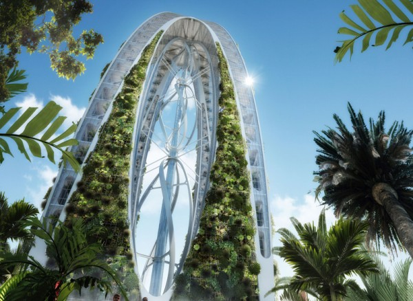 Небоскреб Bionic-Arch. Тайвань